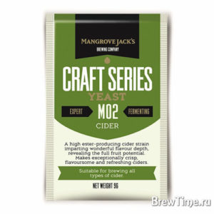Дрожжи для сидра Mangrove Jack's